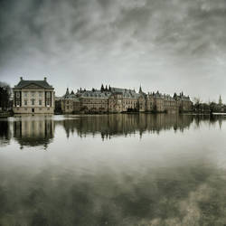 The Hague, The Water, The Sky by JeRoenMurre
