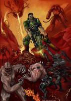 Doom 3 by fed0t
