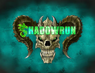 Shadowrun Logo Fanart by fed0t