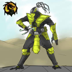 Mk Cyrax Sktch by fed0t