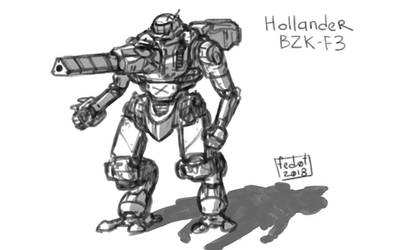 Hollander mech by fed0t