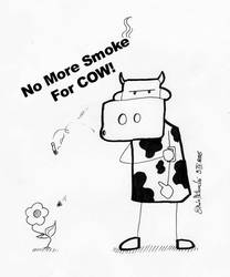 No More Smoke For Cow by ShinMoteuchi