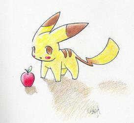Pokemon : C'est une Pomme by fishko