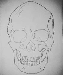 Skull 2 by CrazyAmyM