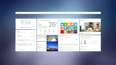 Google Now Desktop by brbk