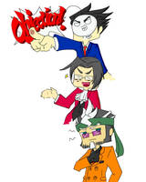 Cry Play's Phoenix Wright by ms-wabbit