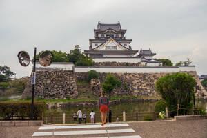 Kishiwada Castle by markv12