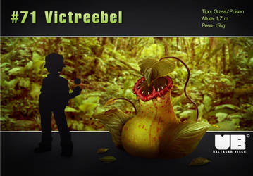 Victreebel in real life by BaltasarVischi