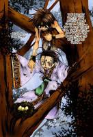 Nataku and Goku by carnival2000