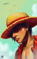 Luffy by pkhenhen