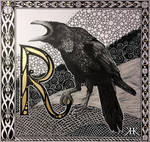 Letter R by Paivatar