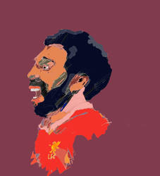 Mo Salah by mattludlam99