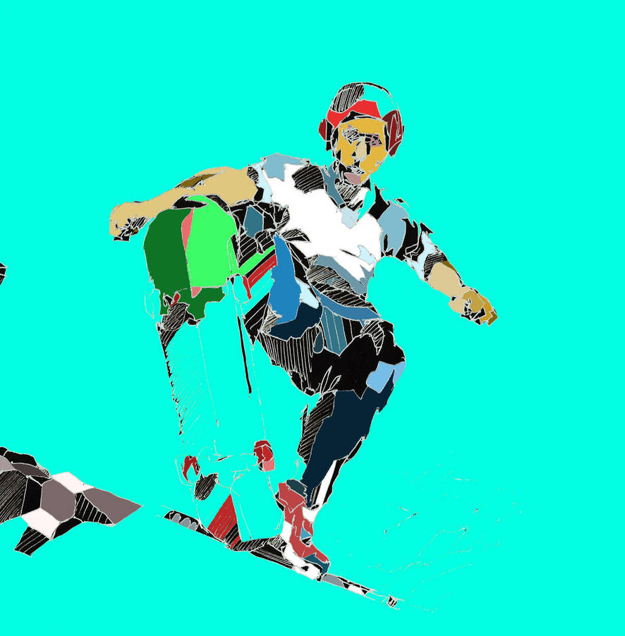 aqua skater by mattludlam99