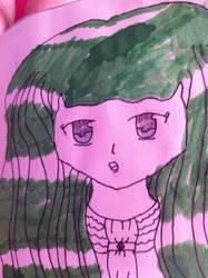 RANDOM OC|Anime Drawing2 by FreyaSparkle9