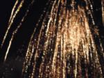 rain fall of fireworks by stucker1987