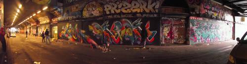 graff under the brigde by stucker1987