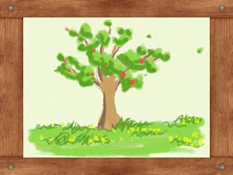 Lesson 3 - Apple Tree by momokuchi