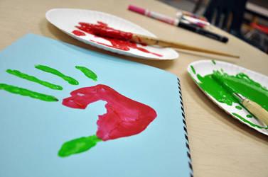 Hand Print by goss0063
