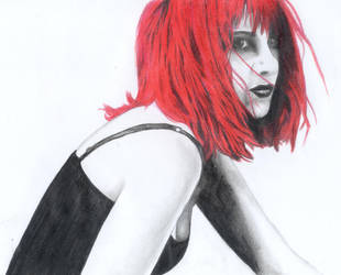 eva from The Drive by paintitblack