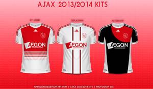 Ajax 2013/2014 Kits by napolion06