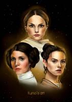 Star Wars Ladies by Kumito93
