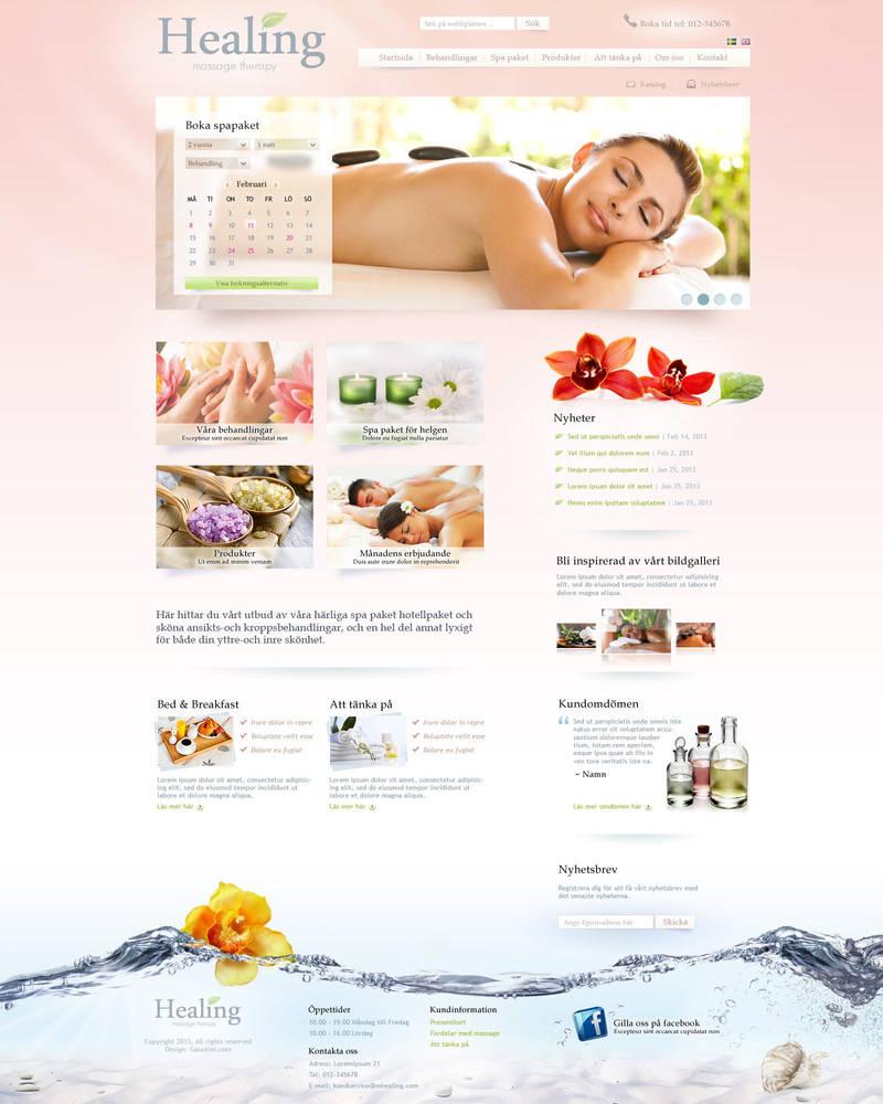 Spa website by gauntler