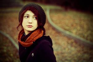 autumn portrait by Sssssergiu