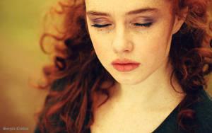 My Favourite Girl Portrait by Sssssergiu