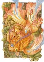 Lotus Girl by ashiong