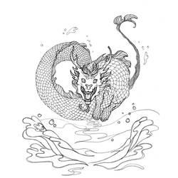 Dragon Eau by Remietc