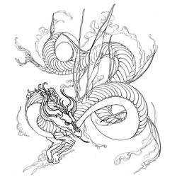 Dragon Feu by Remietc
