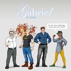 Gabriel's Crew by Remietc
