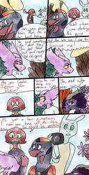 Caster: Falling out (page 6) by sojustme