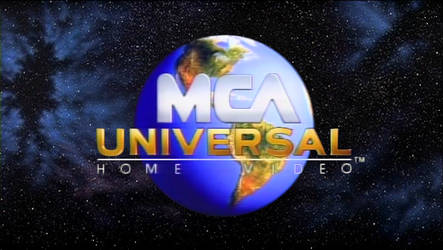 MCA/Universal Home Video logo (1990-1998) in HD by MalekMasoud