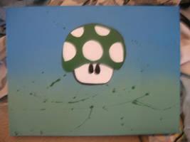 1up canvas by paintisthenewdope