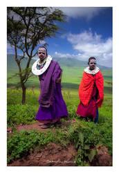 Maasai kids by SebastianKraus