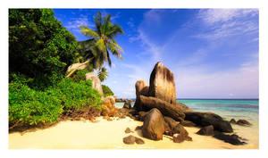 Seychelles Rocks by SebastianKraus