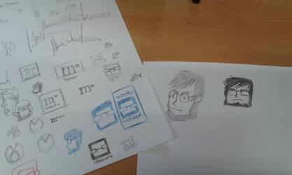 Working on a new logo by marko-kun-astur