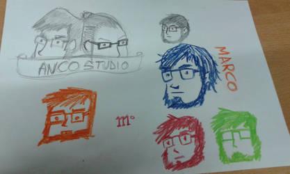 More logo sketches by marko-kun-astur