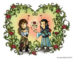 Roses For My Beloved by Isriana