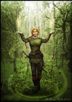 The Druidess by Isriana