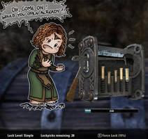 The Worst Lockpicker of Tamriel by Isriana
