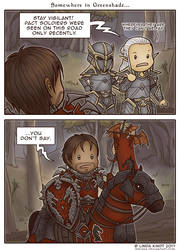 TESO: Not The Soldier They Were Looking For by Isriana