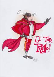 El Toro Rojo! - aka Rojo by Dane-manTP