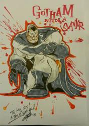 The Dark Knight by Dane-manTP