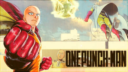 One-Punch Man - ''Saitama'' (Wallpaper 01) by Dr-Erich