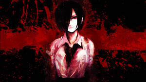 Tokyo Ghoul - ''Touka Kirishima'' (Wallpaper 02) by Dr-Erich