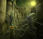 Very scary beast by sasha-fantom