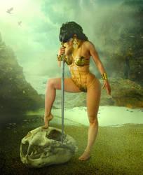 Warrior by sasha-fantom