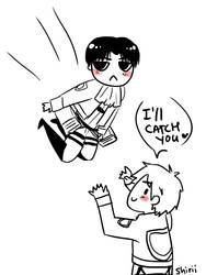 SNK: gotta catch em heichous by shiriomi